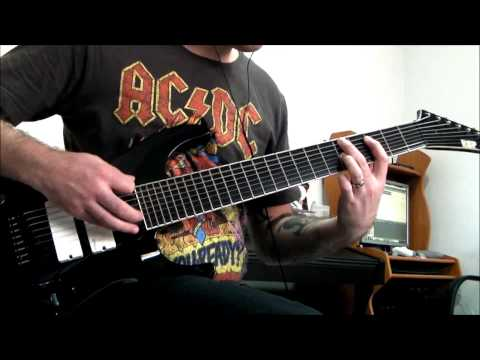 Deftones - Bloody Cape 8 String Guitar Cover
