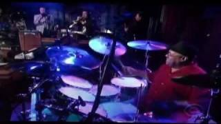 Dennis Chambers - Drum Solo (2nd Week) David Letterman 8-25-11