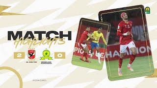 CAF CL | Quart de finale Aller : Al Ahly 2 – 0 Mamelodi Sundowns