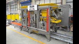 ELKOBLOCK-36M Tam Otomatik Çok Katlı Beton Blok Makinesi Tanıtım Filmi