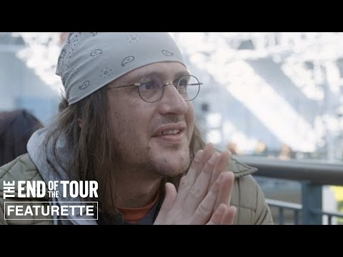 The End of the Tour Featurette 'Jason Segel as David Foster Wallace'
