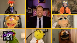 The Muppets & James Corden: 'With a Little Help from My Friends'