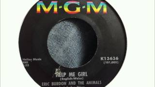 Eric Burdon and the Animals  Help Me Girl