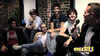Натан Сайкс, @1061BLI Backstage with The Wanted. Exclusive New Interview!