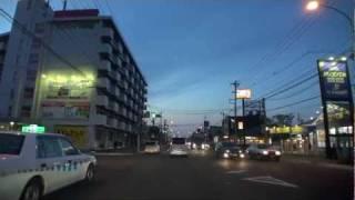 車載動画青森市内をフラフラ