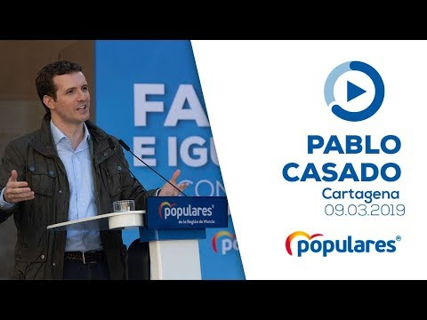 """Pablo Casado anuncia una Ley de Apoyo a la Maternidad que abogue por la """"cultura de la vida"""""""