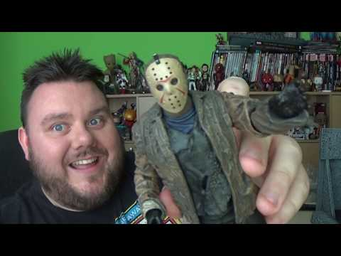 NECA Freddy Vs Jason - Ultimate Jason Action Figure Unboxing Toy Review