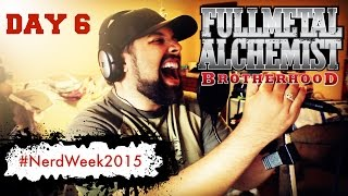 Fullmetal Alchemist Brotherhood [ENGLISH] - Period (OP 4) - Caleb Hyles - #NerdWeek2015