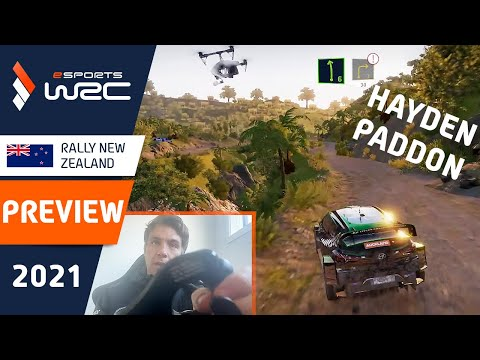 E-sports WRC2021 ニュージーランド プレビュー動画