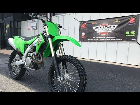 2021 Kawasaki KX 450 in Greenville, North Carolina - Video 1