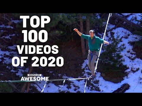 அசர வைக்கும் சாதனைகள் Top 100 Videos of 2020 | People Are Awesome | Best of the Year