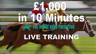 The Horse Race Predictor - £1,000 in 10 Minutes