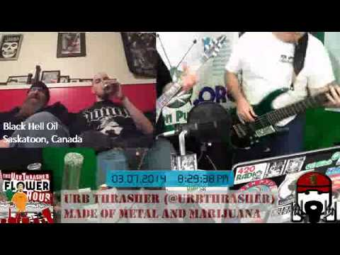 Urb Thrasher Flower Hour 1 #64 - Interview with Damien and Richard from Black Hell Oil