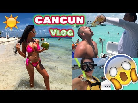 CANCUN VLOG | BOAT TRIP, ISLA MUJERES & JUNGLE TOUR
