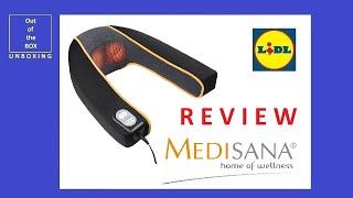 Medisana 88941 Neck Massager MNV REVIEW (Lidl heating 2 levels)