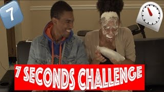 7 Seconds Challenge w/ Pies in the Face! (Extremely Funny)