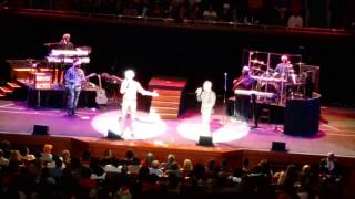 "Brian McKnight and Tim Miner perform ""The First Noel"""