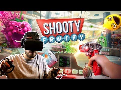 Shooty Fruity , un jeu en Realité Virtuelle sur Oculus Rift !