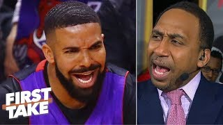If you want to shut Drake up, be like LeBron and beat the Raptors! - Stephen A. | First Take