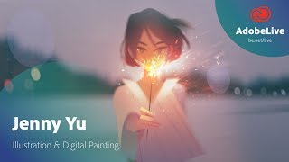 Illustration & Digital Painting Tutorial In Photoshop With Jenny Yu (1/3) | Adobe Creative Cloud