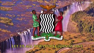 National anthem of Zambia (English lyrics)