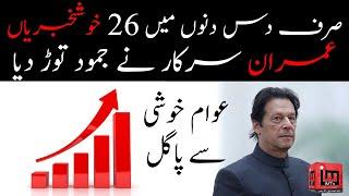 26 great victories of Imran Khan's Govt. in just 10 days | PTI | Ghalib Sultan | IM Tv
