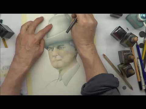 Airbrush der Texaner Teil 2 - Leider mangelhaftes Airbrushpapier