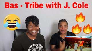 🔥 Bas   Tribe With J.Cole Reaction | J100 And Aunt