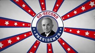 Harry S. Truman | 60-Second Presidents | PBS