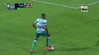 Gol de A. Preciado | Santos 2 - 0 Querétaro | Liga BBVA MX - Guard1anes 2021 - Reclasificación
