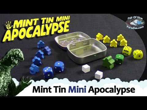 Mint Tin Mini Apocalypse Overview by PairOfDice Paradice
