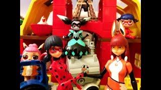 Мама Леди Баг, Папа Супер-Кот и мама Вольпина спасают своих малышей от Кукловода