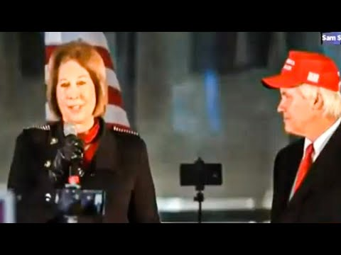 Sidney Powell Leads Charge On Dangerous, Dopey MAGA Rally