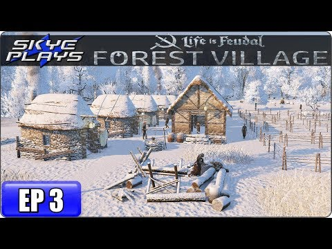 Life Is Feudal Forest Village Let's Play / Gameplay – Ep 3 – Medieval City Building Simulation Game