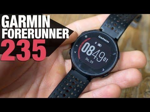 Garmin FORERUNNER 235 im Test: Die günstige Laufuhr mit ALLEN Sensoren & haufenweise Funktionen