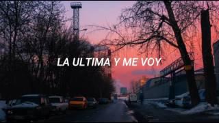 División Minúscula - La Ultima Y Me Voy (Letra)