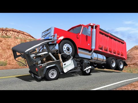 500,000 Subscribers Special - Best of Realistic High Speed Crashes #3 - BeamNG Drive