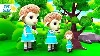 New 3D Cartoon For Kids ¦ Dolly And Friends ¦ Big and Small #11