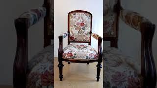 Ремонт старинного кресла своими руками