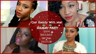 preview picture of video 'Get Ready With Me! Holiday Party Makeup, Hair & Outfit | JASMINE ROSE'