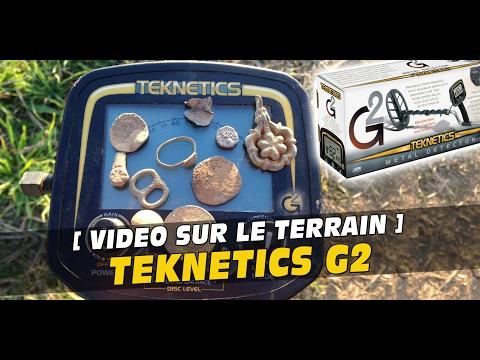 Détecteur de métaux Teknetics G2 (19kHz) / Metal detector Teknetics G2