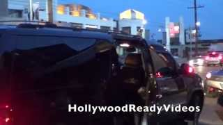 Селена Гомез, (Exclusive) Selena Gomez takes photos with fans arriving at Nobu in West Hollywood