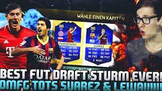 FIFA 16 OMG BEST STRIKER FUT DRAFT DEUTSCH  FIFA 16 ULTIMATE TEAM  TOTS SUAREZ & LEWA