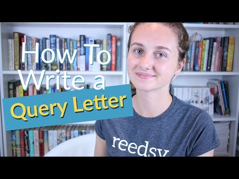a query letter is a note asking an agent if theyre interested in representing a book agents can receive more than ten queries a day and might only sign
