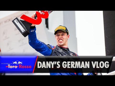 Daniil Kvyat's German GP Vlog | Podium Special!