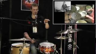 LIVE at NAMM 2012 - Florian Alexandru-Zorn - Brush Tips & Technique