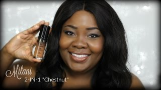 """Milani 2 in 1 """"Chestnut"""" 