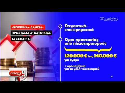 Τα σενάρια για «κόκκινα» δάνεια και πρώτη κατοικία | 11/2/2019 | ΕΡΤ