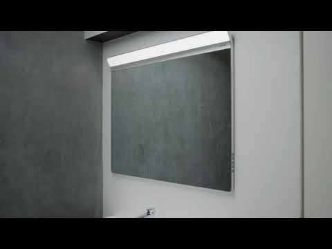 Зеркало Am.Pm Inspire V2.0 (M50AMOX1201SA) (120 см) с LED-подсветкой и системой антизапотевания 8