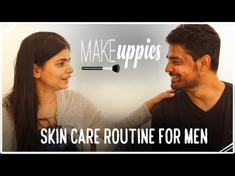 Simple Skin Care Routine for Men - Night Time